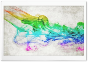 Colorful Smoke HD Wide Wallpaper for Widescreen