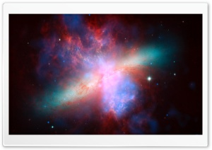 Colorful Space Dust HD Wide Wallpaper for Widescreen