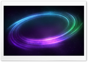 Colorful Space Vortex Background HD Wide Wallpaper for Widescreen