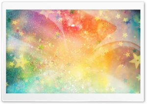Colorful Sparkles HD Wide Wallpaper for Widescreen