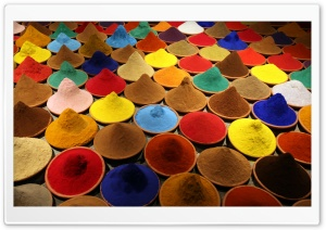 Colorful Spices HD Wide Wallpaper for Widescreen