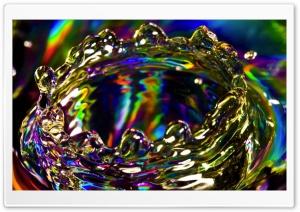 Colorful Splash TV Ultra HD Wallpaper for 4K UHD Widescreen desktop, tablet & smartphone