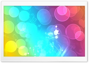 Colorful Sprays HD Wide Wallpaper for Widescreen