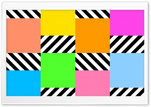 Colorful Squares HD Wide Wallpaper for Widescreen