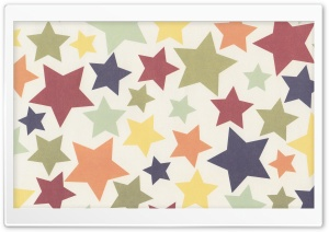 Colorful Stars HD Wide Wallpaper for Widescreen