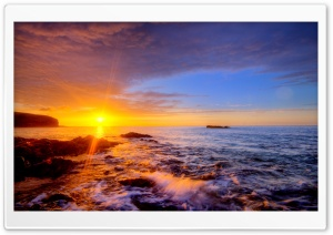 Colorful Sunset HD Wide Wallpaper for Widescreen