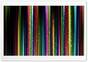Colorful Thin Lines HD Wide Wallpaper for Widescreen