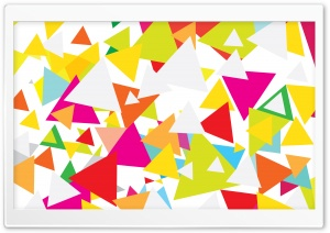 Colorful Triangles Ultra HD Wallpaper for 4K UHD Widescreen desktop, tablet & smartphone