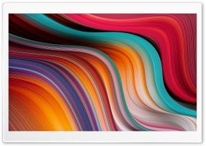 Colorful Wave Design Background Ultra HD Wallpaper for 4K UHD Widescreen desktop, tablet & smartphone