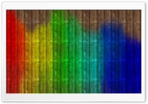 Colorful Wood HD Wide Wallpaper for Widescreen