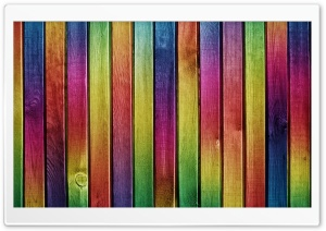 Colorful Wood Background HD Wide Wallpaper for Widescreen