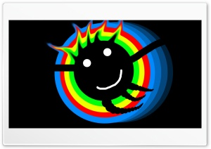 Colorfull Smiley Face HD Wide Wallpaper for 4K UHD Widescreen desktop & smartphone