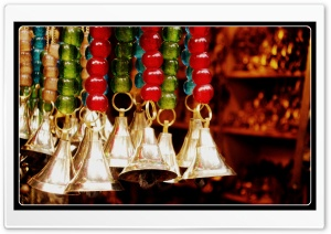 Colors, Beads &amp; Bells HD Wide Wallpaper for Widescreen
