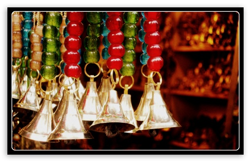 Colors, Beads & Bells HD wallpaper for Wide 16:10 Widescreen WHXGA WQXGA WUXGA WXGA ;
