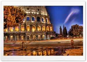 Colosseum HDR HD Wide Wallpaper for Widescreen