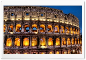 Colosseum HDR 1 HD Wide Wallpaper for Widescreen