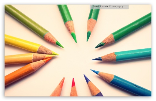 Colour Pencils HD wallpaper for Wide 16:10 Widescreen WHXGA WQXGA WUXGA WXGA ; Standard 4:3 5:4 Fullscreen UXGA XGA SVGA QSXGA SXGA ; Tablet 1:1 ; iPad 1/2/Mini ; Mobile 4:3 5:4 - UXGA XGA SVGA QSXGA SXGA ;