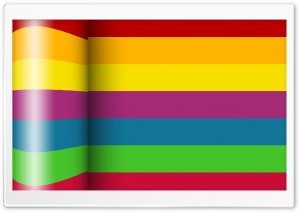 Colour Stripes_Nithinsuren HD Wide Wallpaper for Widescreen