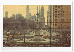 Columbus Circle HD Wide Wallpaper for Widescreen