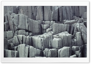 Columnar Basalt HD Wide Wallpaper for Widescreen