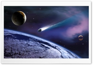 Comet HD Wide Wallpaper for Widescreen