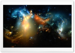 Cometary Nebulae By Casperium HD Wide Wallpaper for Widescreen