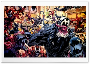 Comics Chaos HD Wide Wallpaper for Widescreen
