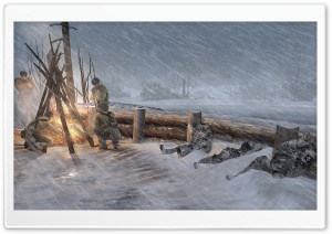 Company Of Heroes 2 2013 HD Wide Wallpaper for 4K UHD Widescreen desktop & smartphone