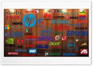 Computer Companies Logos Ultra HD Wallpaper for 4K UHD Widescreen desktop, tablet & smartphone