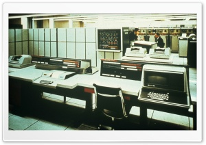 Computer History Univac HD Wide Wallpaper for Widescreen