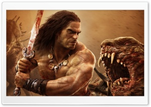 Conan Exiles HD Wide Wallpaper for 4K UHD Widescreen desktop & smartphone