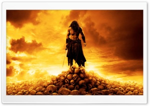 Conan The Barbarian 2011 HD Wide Wallpaper for Widescreen