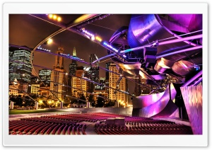 Concert Hall HDR HD Wide Wallpaper for Widescreen