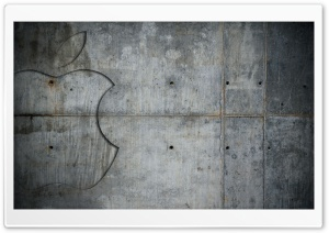 Concrete Apple HD Wide Wallpaper for Widescreen