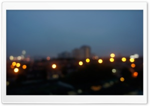 Condominum Bokeh HD Wide Wallpaper for Widescreen