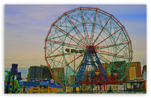 Coney Island Ferris Wheel HD wallpaper for Wide 16:10 5:3 Widescreen WHXGA WQXGA WUXGA WXGA WGA ; HD 16:9 High Definition WQHD QWXGA 1080p 900p 720p QHD nHD ; Standard 4:3 5:4 3:2 Fullscreen UXGA XGA SVGA QSXGA SXGA DVGA HVGA HQVGA devices ( Apple PowerBook G4 iPhone 4 3G 3GS iPod Touch ) ; Tablet 1:1 ; iPad 1/2/Mini ; Mobile 4:3 5:3 3:2 16:9 5:4 - UXGA XGA SVGA WGA DVGA HVGA HQVGA devices ( Apple PowerBook G4 iPhone 4 3G 3GS iPod Touch ) WQHD QWXGA 1080p 900p 720p QHD nHD QSXGA SXGA ;