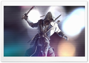 Connor Kenway Enhanced HD Wide Wallpaper for 4K UHD Widescreen desktop & smartphone