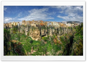 Constantine, Algeria HD Wide Wallpaper for Widescreen