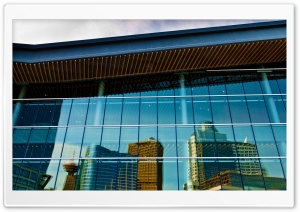Convention Centre Reflection HD Wide Wallpaper for Widescreen