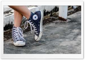 Converse Shoes HD Wide Wallpaper for Widescreen