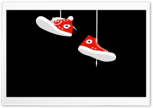 Converse Sneakers HD Wide Wallpaper for Widescreen