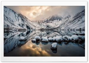 Convict Lake HD Wide Wallpaper for Widescreen