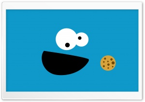 Cookie Monster HD Wide Wallpaper for Widescreen