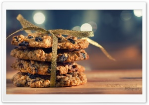 Cookies Gift HD Wide Wallpaper for Widescreen