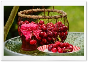 Cooking Cherry Jam Ultra HD Wallpaper for 4K UHD Widescreen desktop, tablet & smartphone