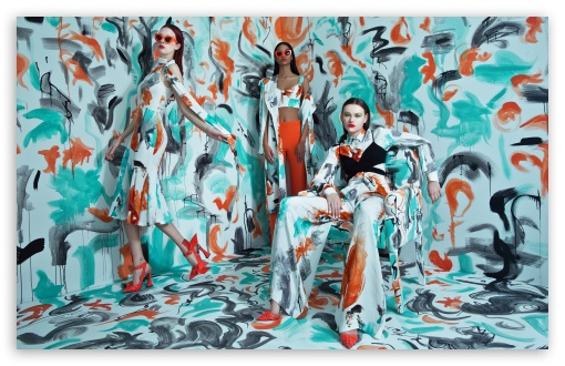 Download Cool Girls HD Wallpaper