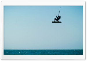 Cool Kite Surfing   Renesse, Zeeland HD Wide Wallpaper for Widescreen