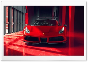 Cool Red Ferrari Car 2018