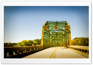 Coosa River Bridge, Alabama HD Wide Wallpaper for 4K UHD Widescreen desktop & smartphone