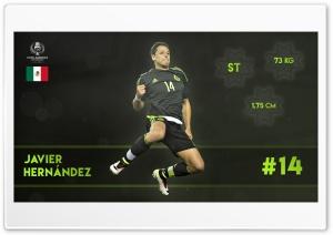 Copa America - Javier Hernandez HD Wide Wallpaper for Widescreen